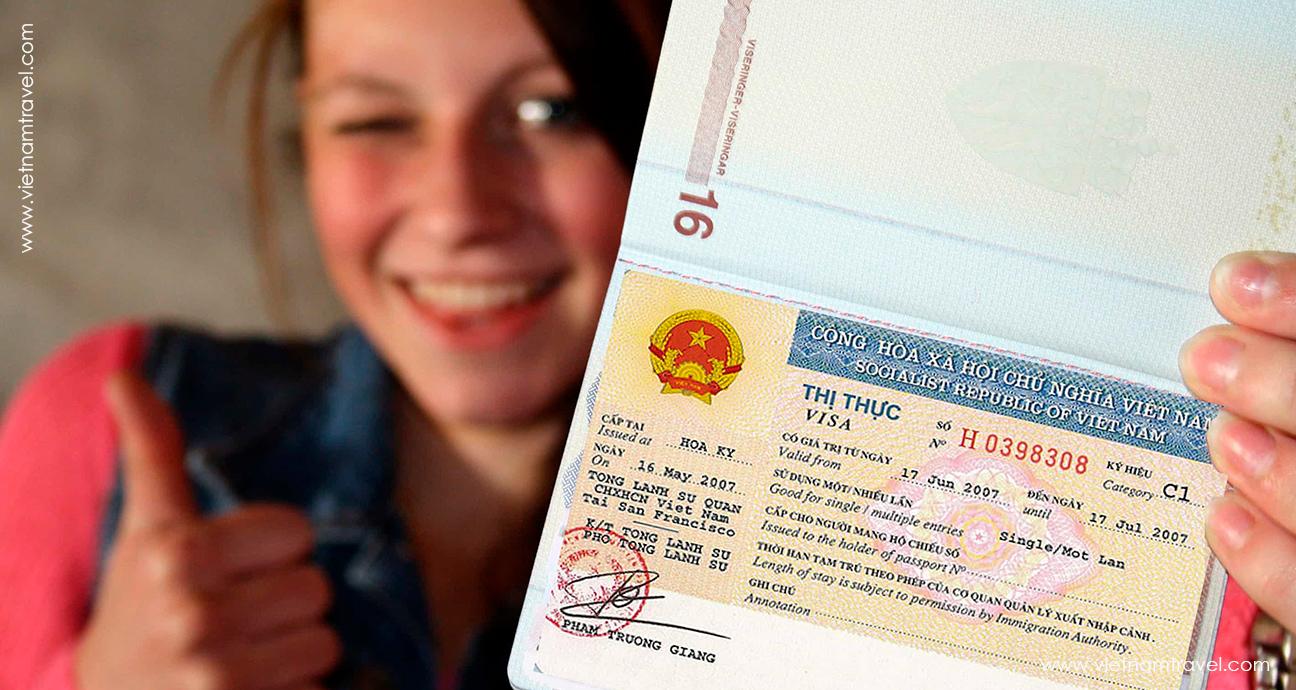 vietnam visa stamp Laos Travel