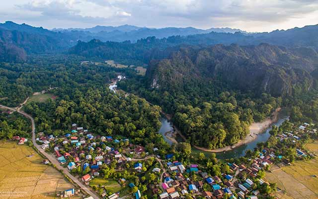 Southern Laos Highlights