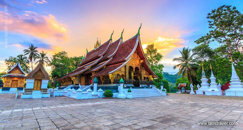 Laos Luang Prabang Wat Xiengthong 1 Laos Travel