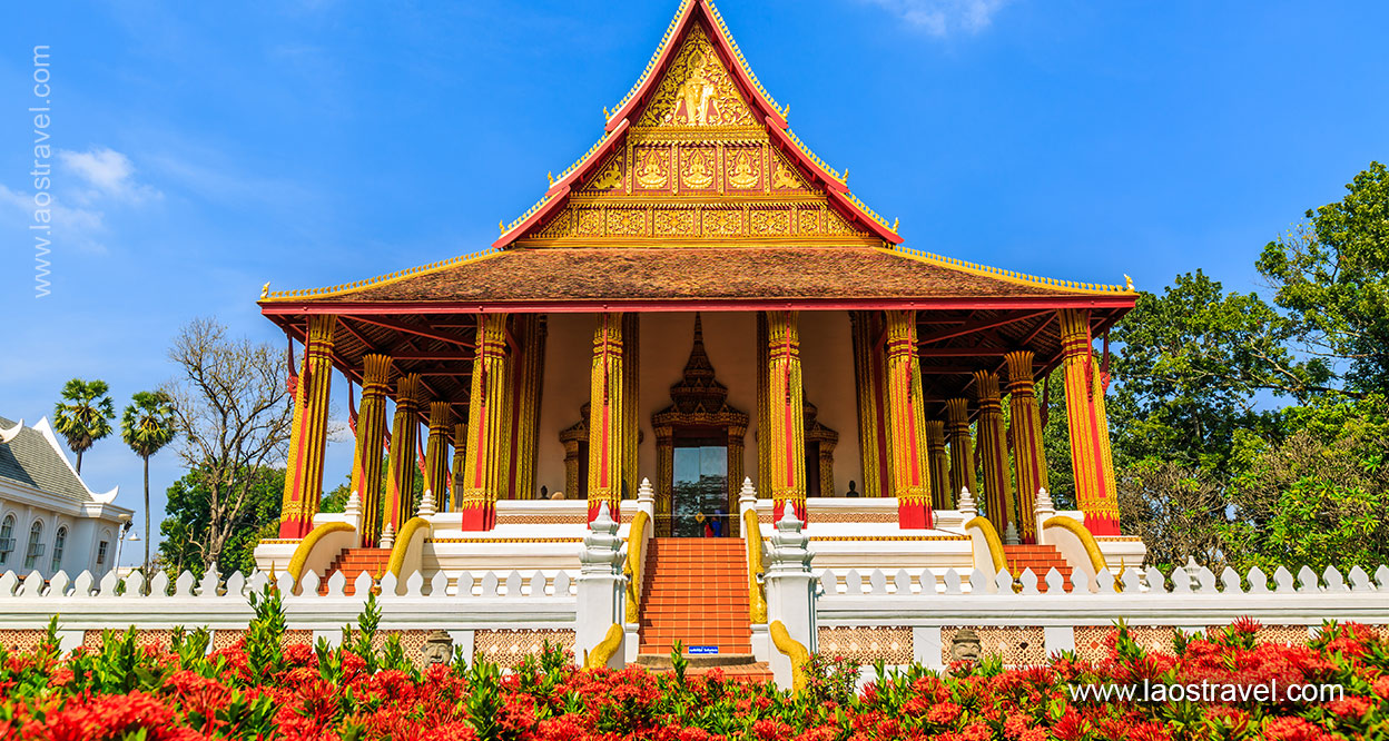 laos vientiane Haw Phra Kaew