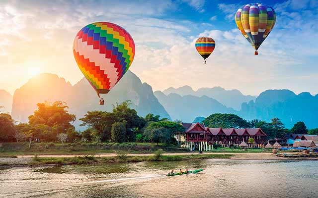 Thailand and Laos highlights