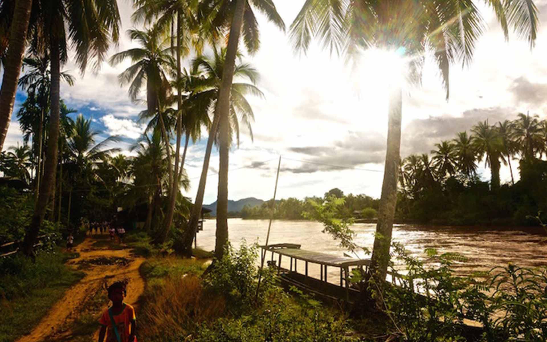 river of laos