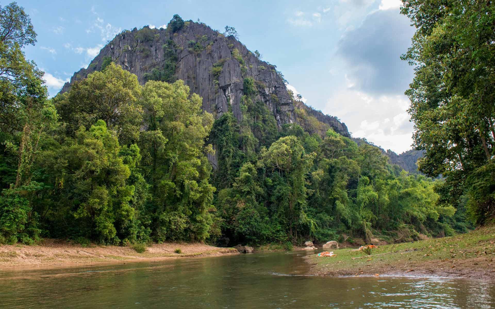 Mountain in longlor village
