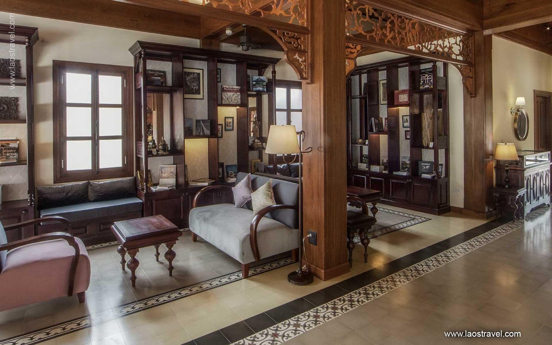 living room Le Bel Air Resort