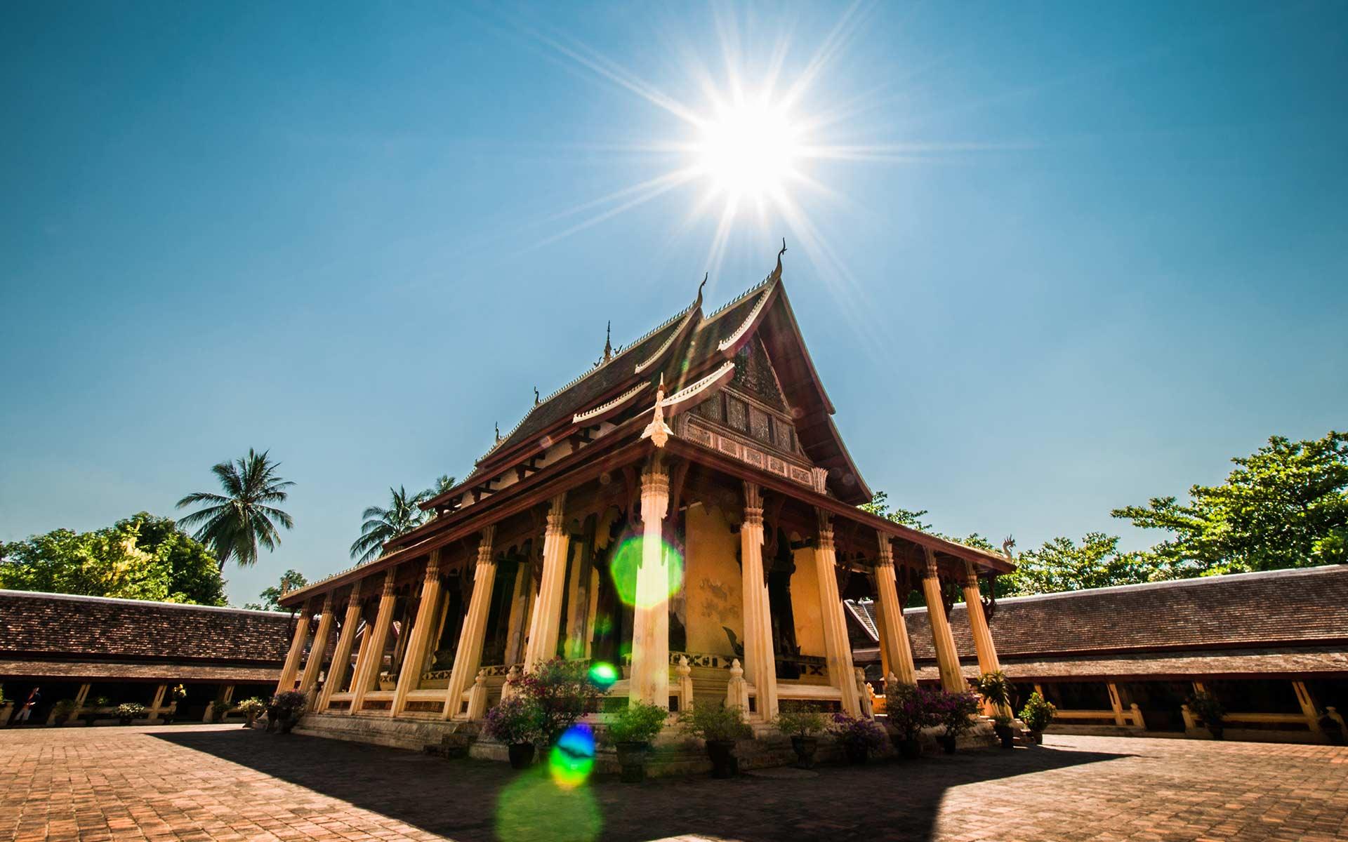 laos vientiane Wat Si Saket