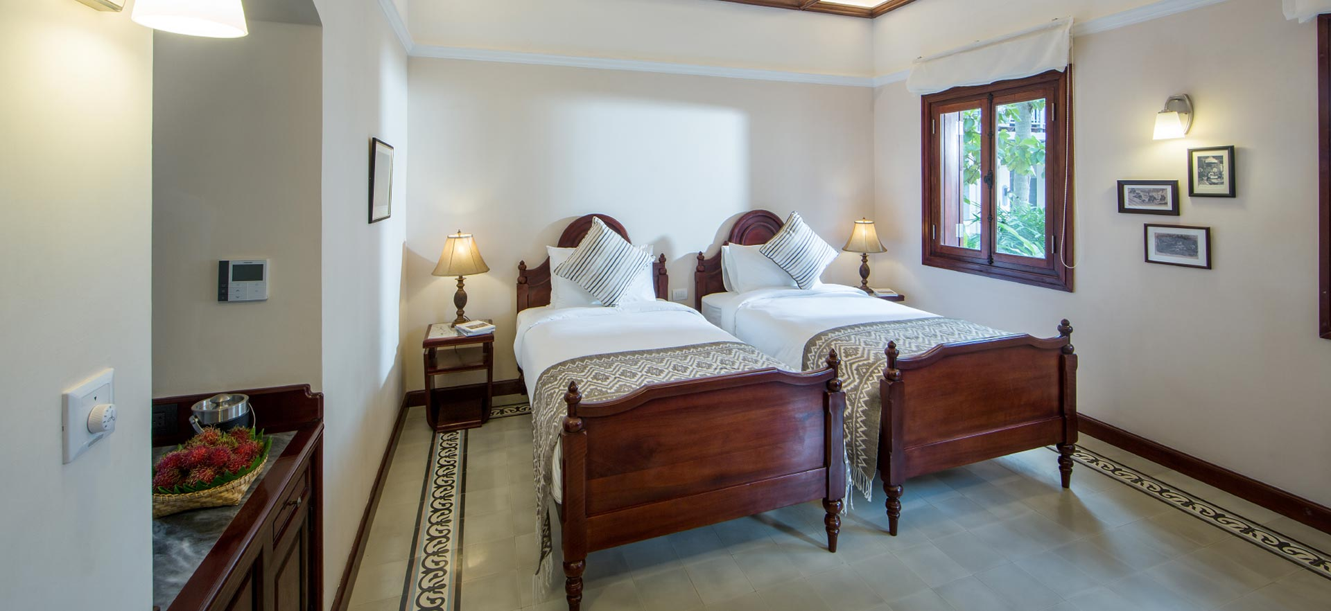 Double bed room Le Bel Air Resort
