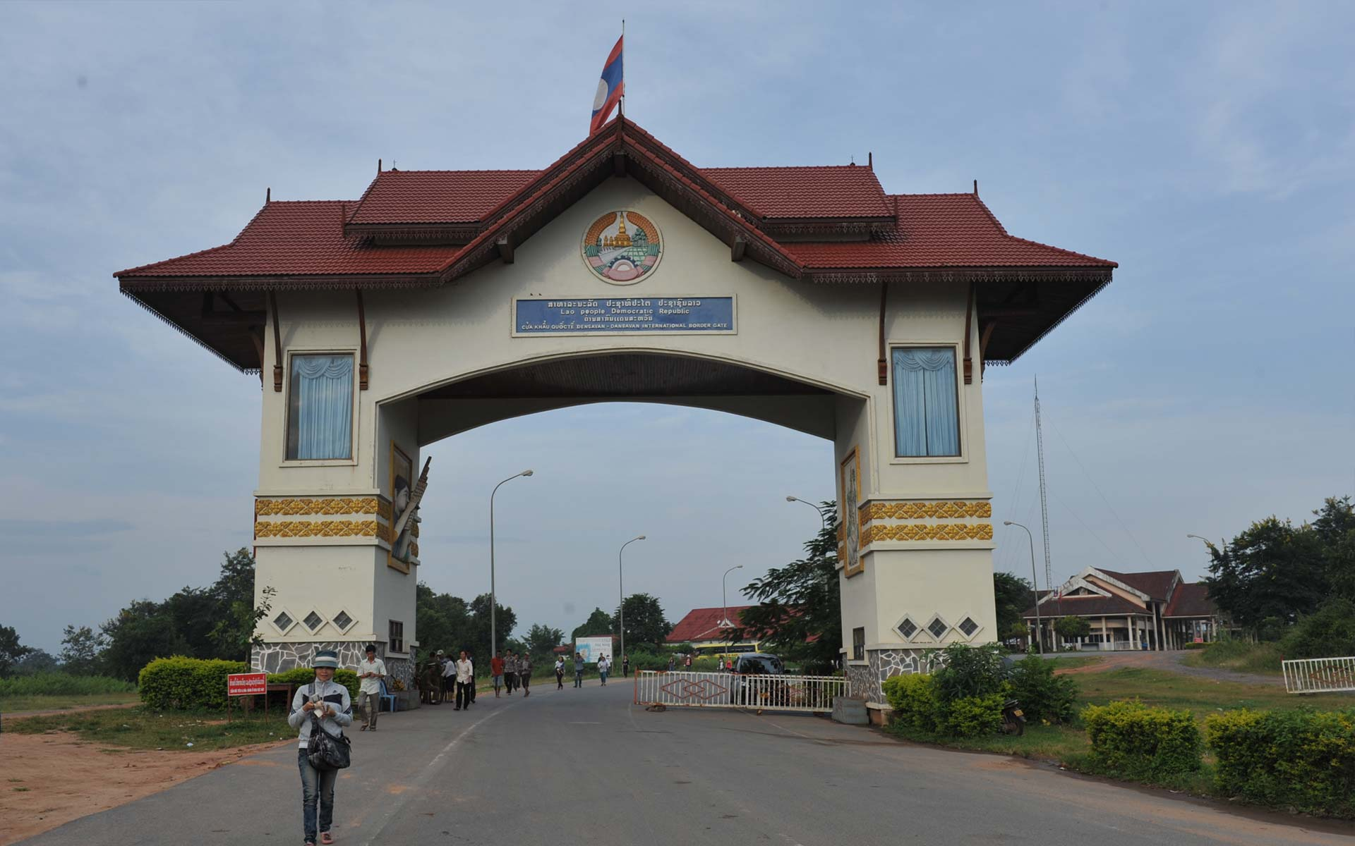 Get to Laos by overland through border crossings
