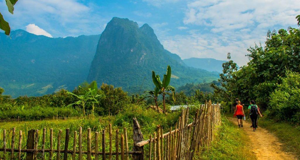 Trekking in luang prabang Laos Travel