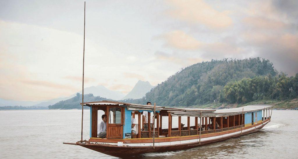 boat trip to Pak Ou Cave Laos Travel