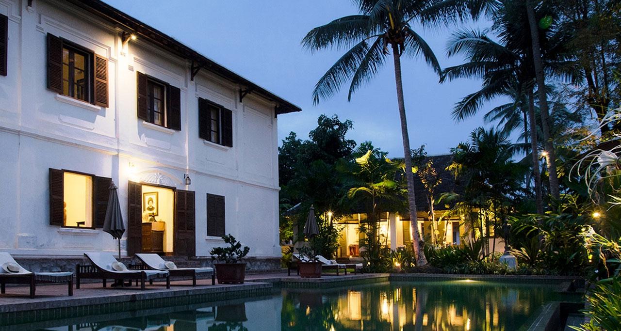 satri house in luang prabang Laos Travel
