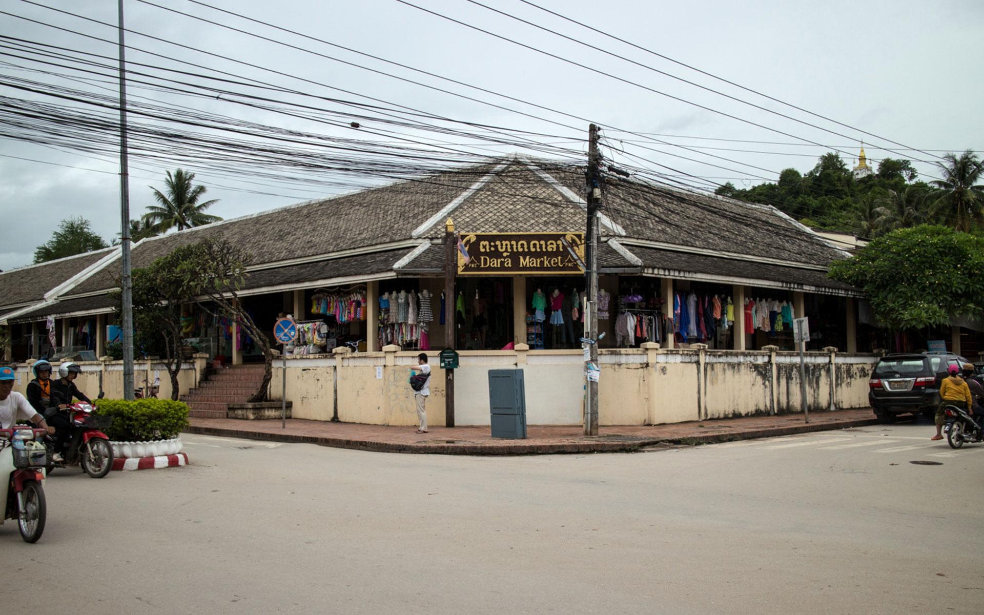 Dara Market luang prabang laos