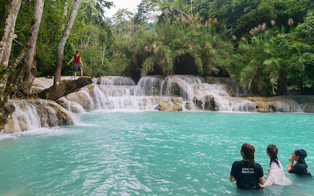 The ultimate guide to Tad Sae Waterfalls, Luang Prabang
