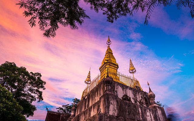 Phousi Mountain: Most Well-known Landmark in Luang Prabang