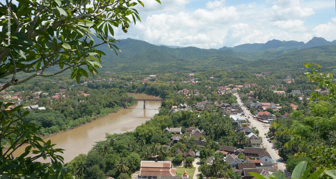 Phousi luangprabang1 Laos Travel