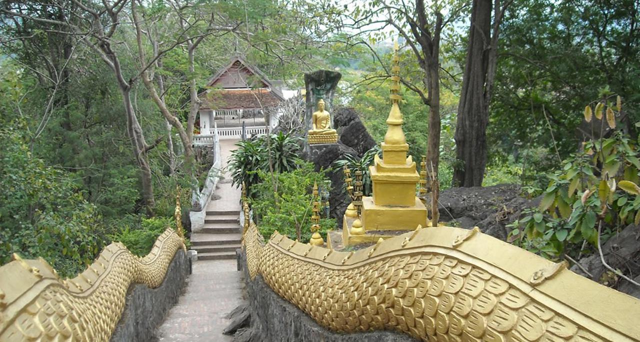 Phousi luangprabang2 Laos Travel