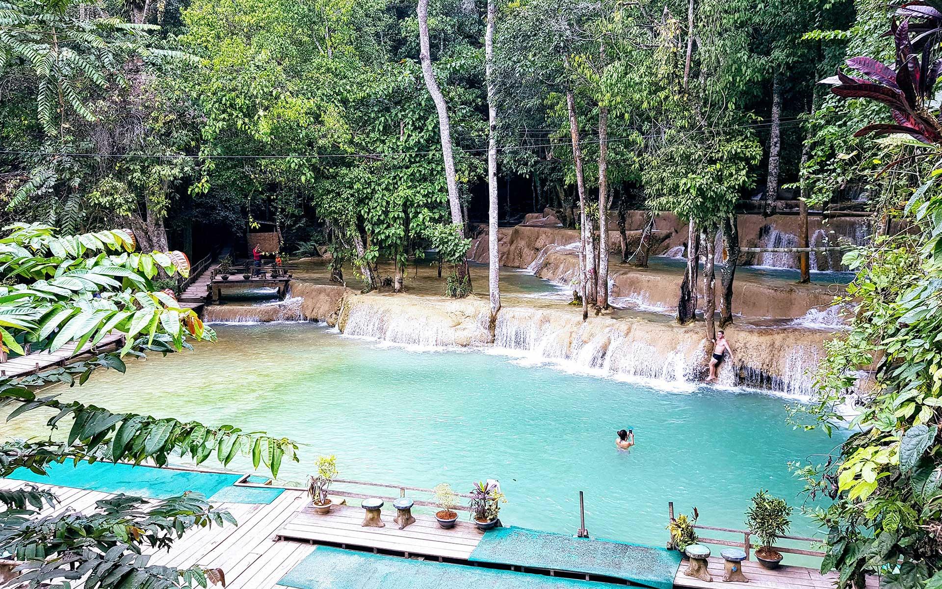 Tad Sae Waterfall Luang Prabang 1 Laos Travel