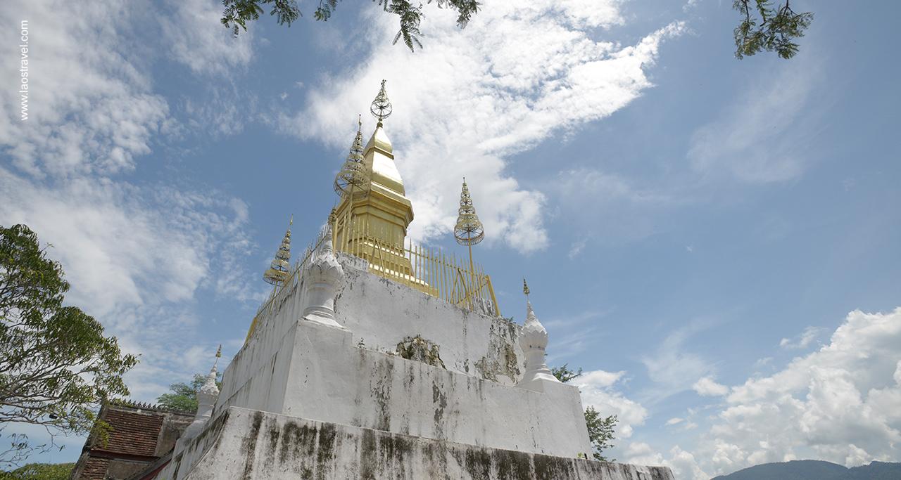 Wat Chom Si luangprabang1 Laos Travel