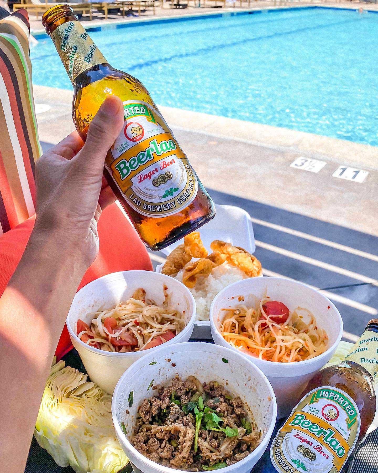 Laos essential tastes and beer