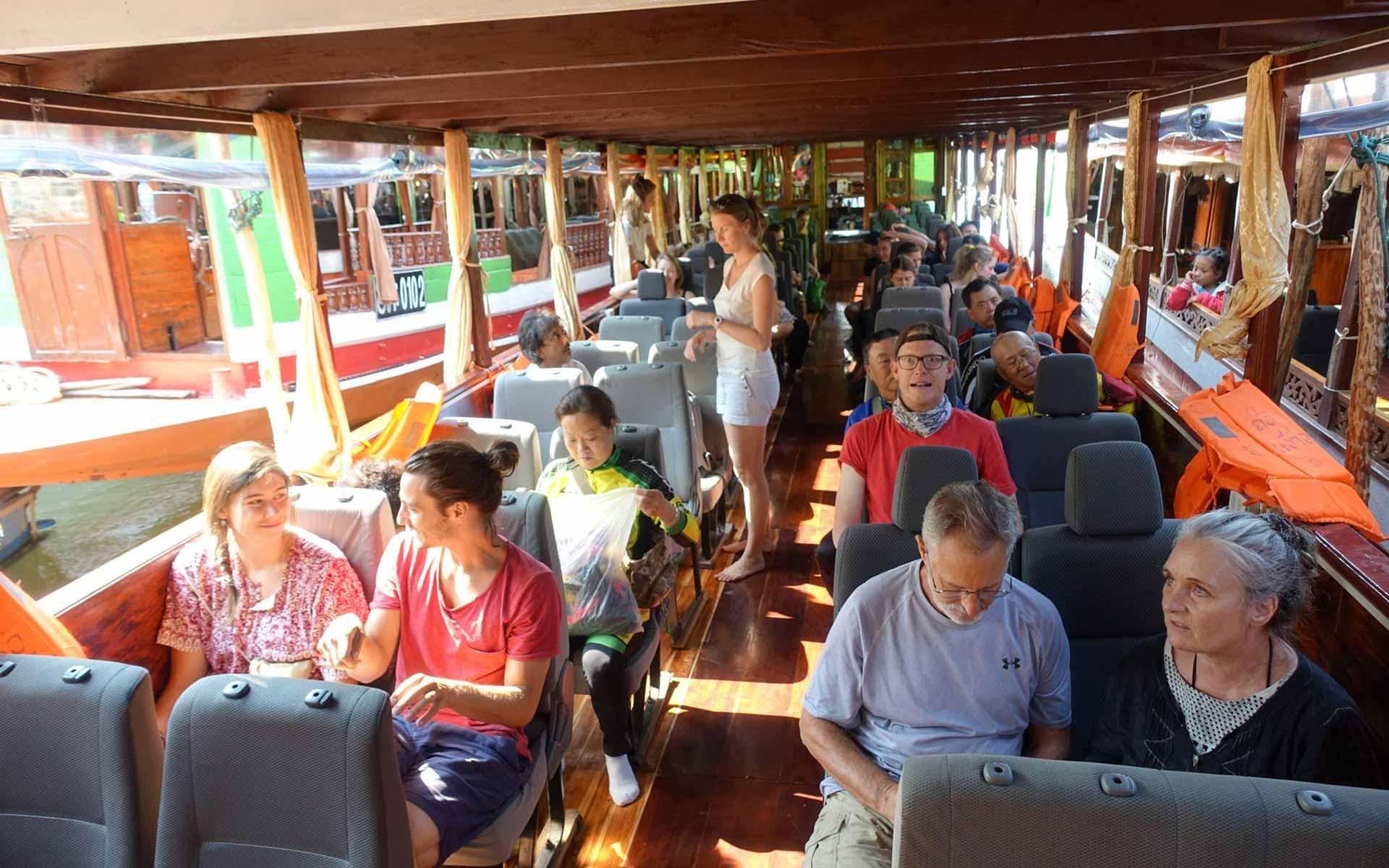 boat from Huang Xai to Luang Prabang