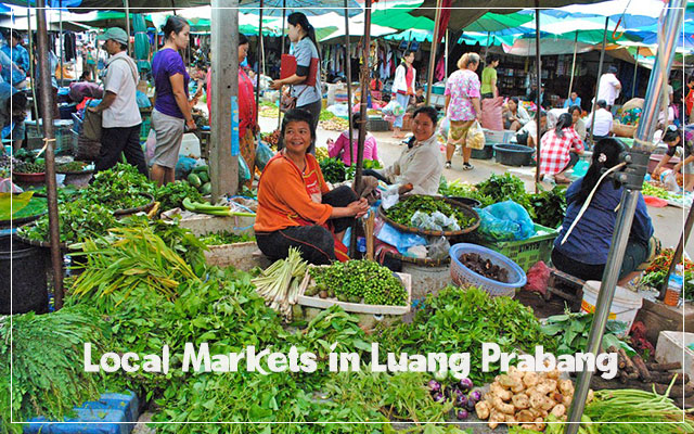 Local Markets in Luang Prabang