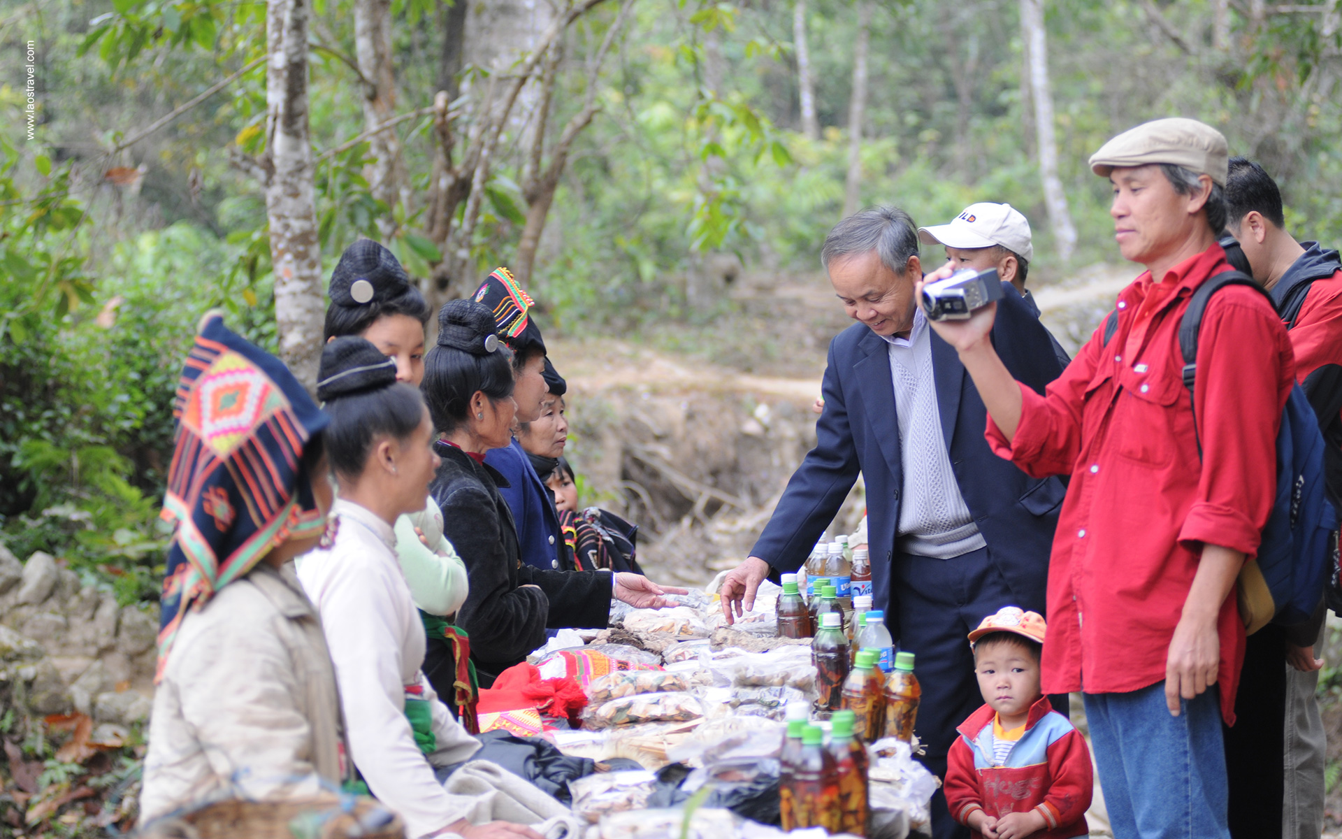 Ethnic villagers