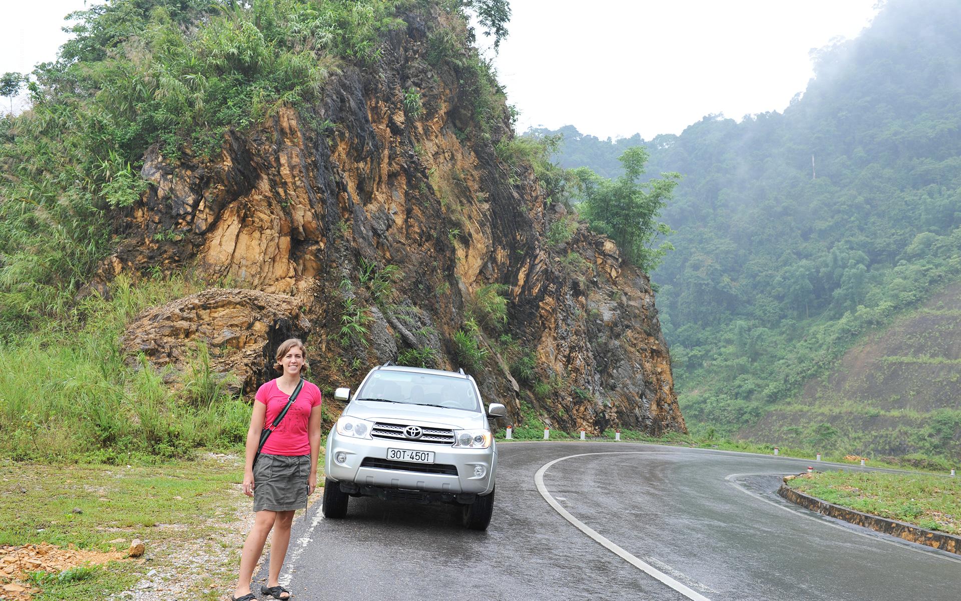 Hanoi drive toLuang Prabang1 Laos Travel