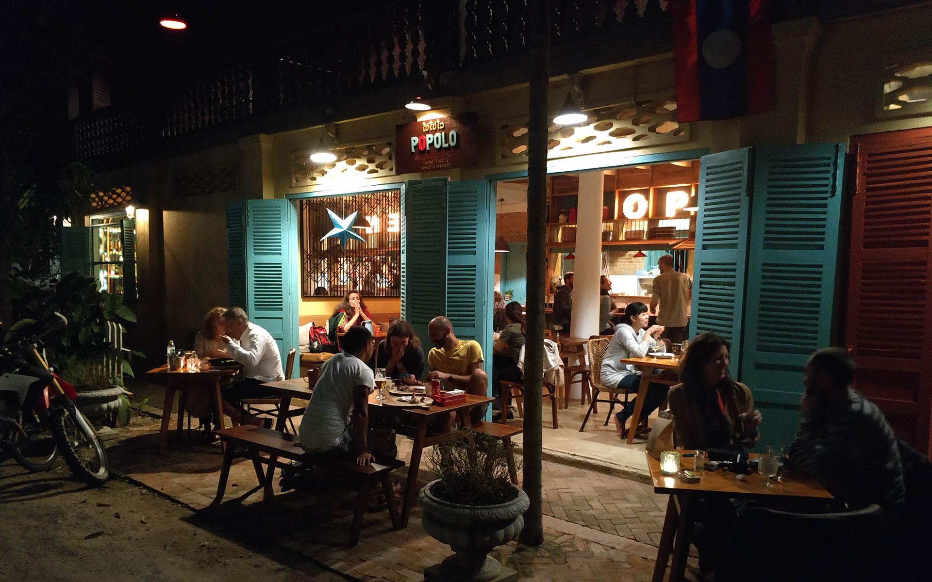 Popolo restaurant luang prabang
