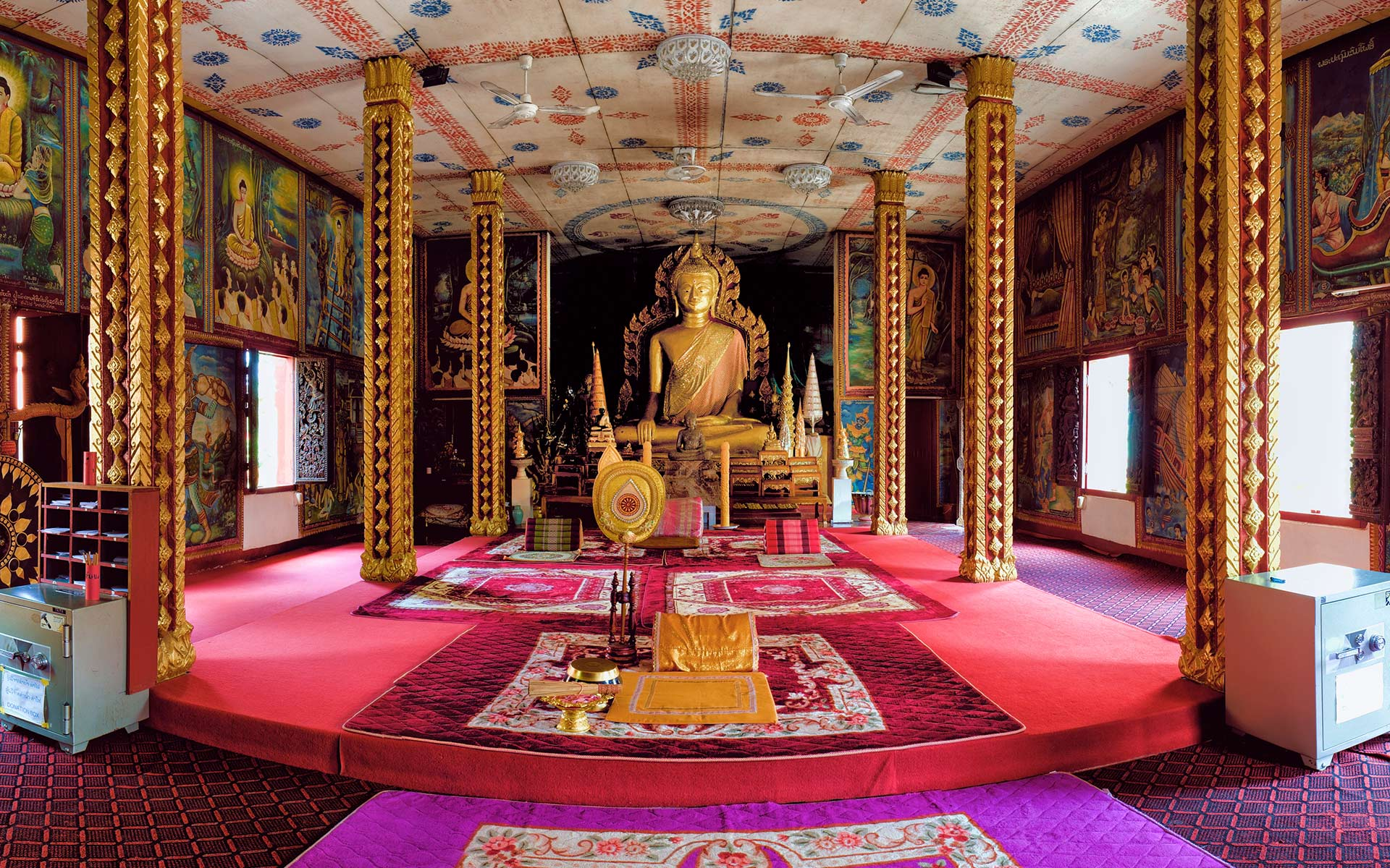 Wat Luang Temple is considered as the most beautiful and interesting Wat in Pakse.