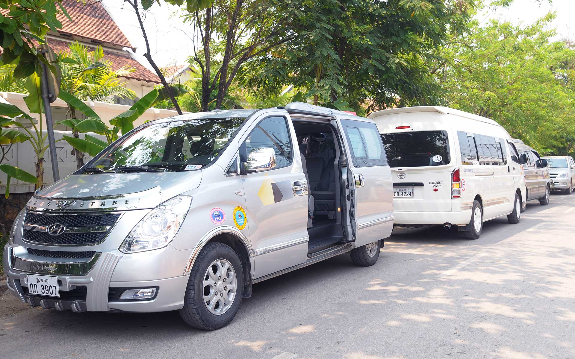 How to get from Vientiane to Luang Prabang?