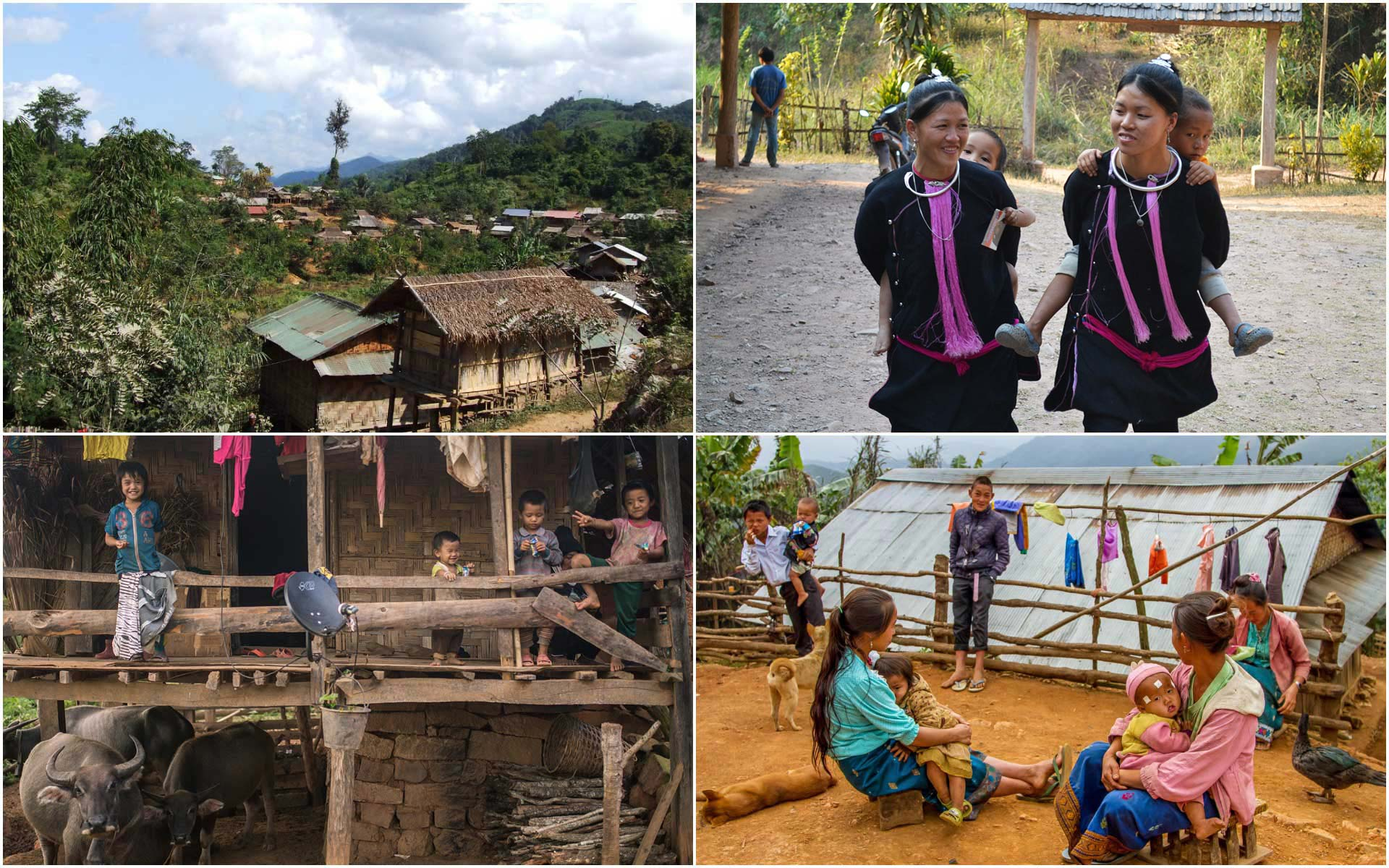 Visit the authentic ethnic villages is the unique thing to do in Luang Namtha