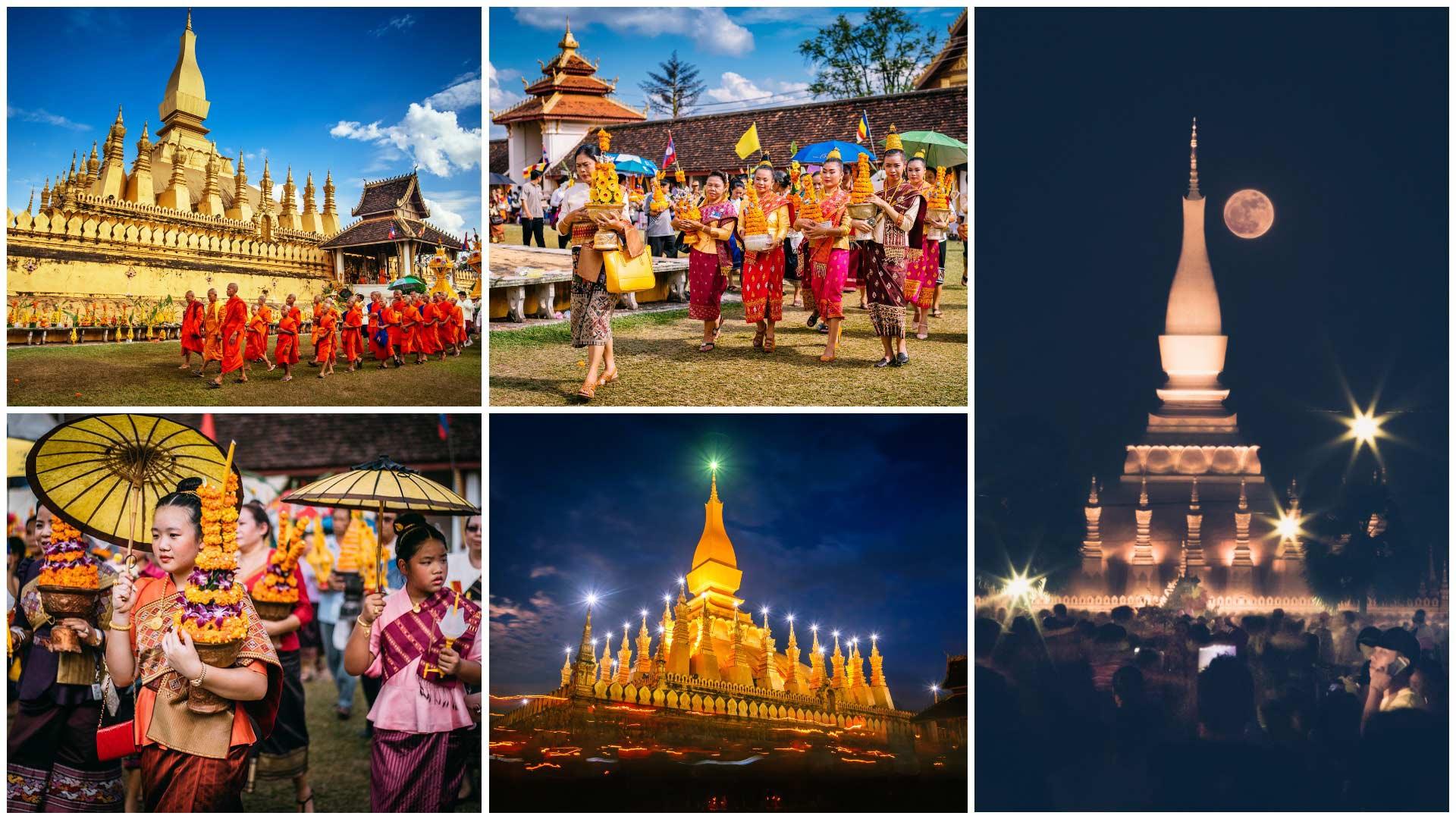 Boun That Luang festival