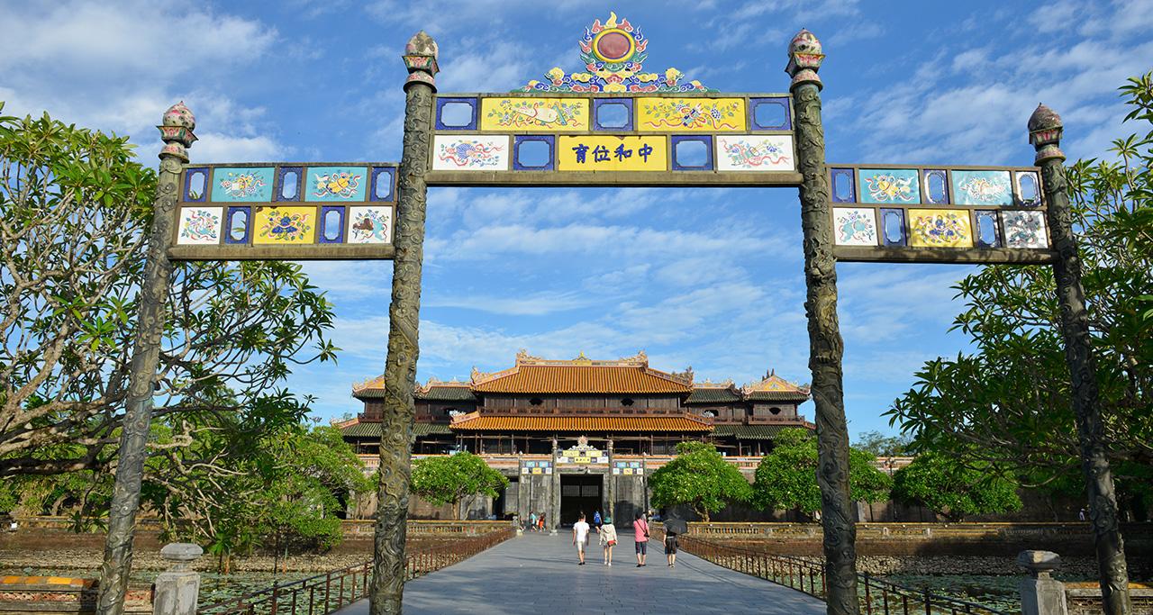 Hue Imperial Citadel was Vietnam's last royal dynasty's residence.