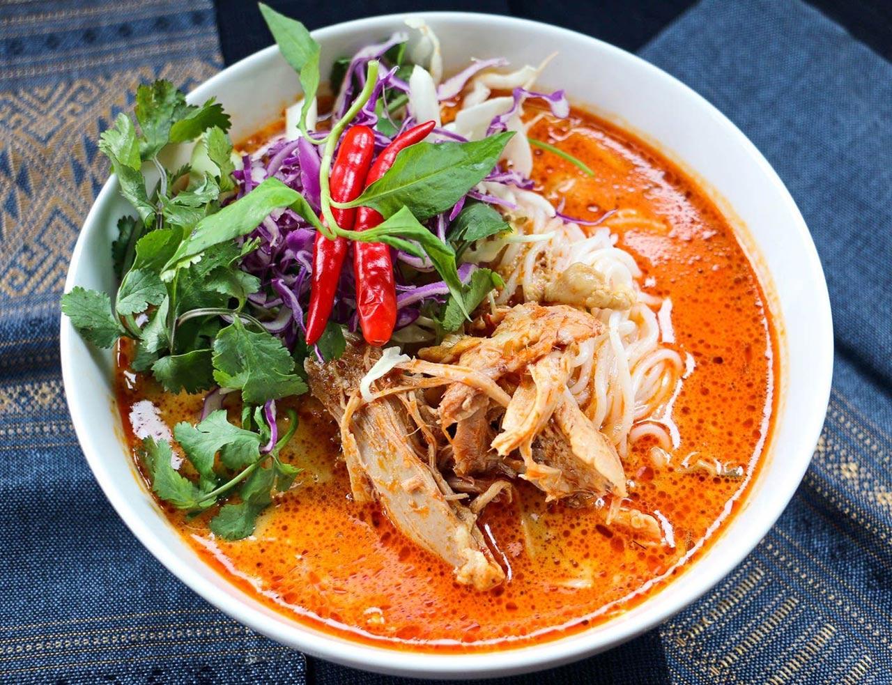 Khao Poon Noodles