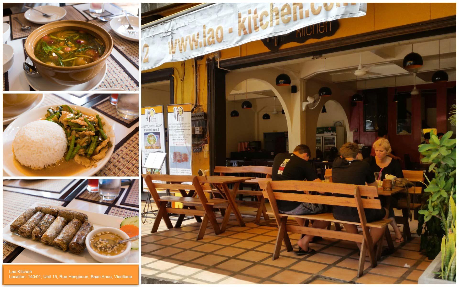 Lao Kitchen Vientiane - Most Popular Restaurants in Vientiane