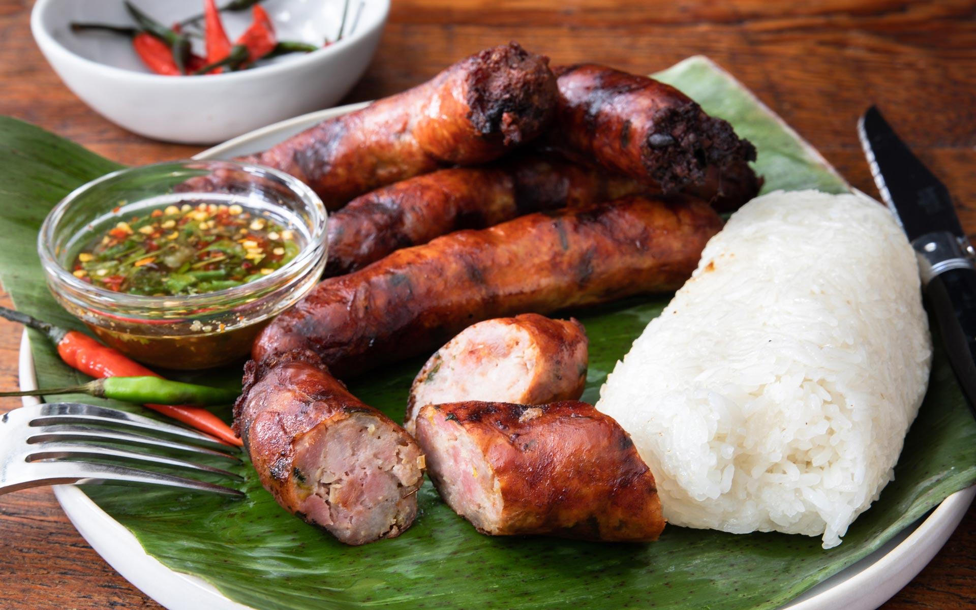 Lao Sausage – Sai Oua