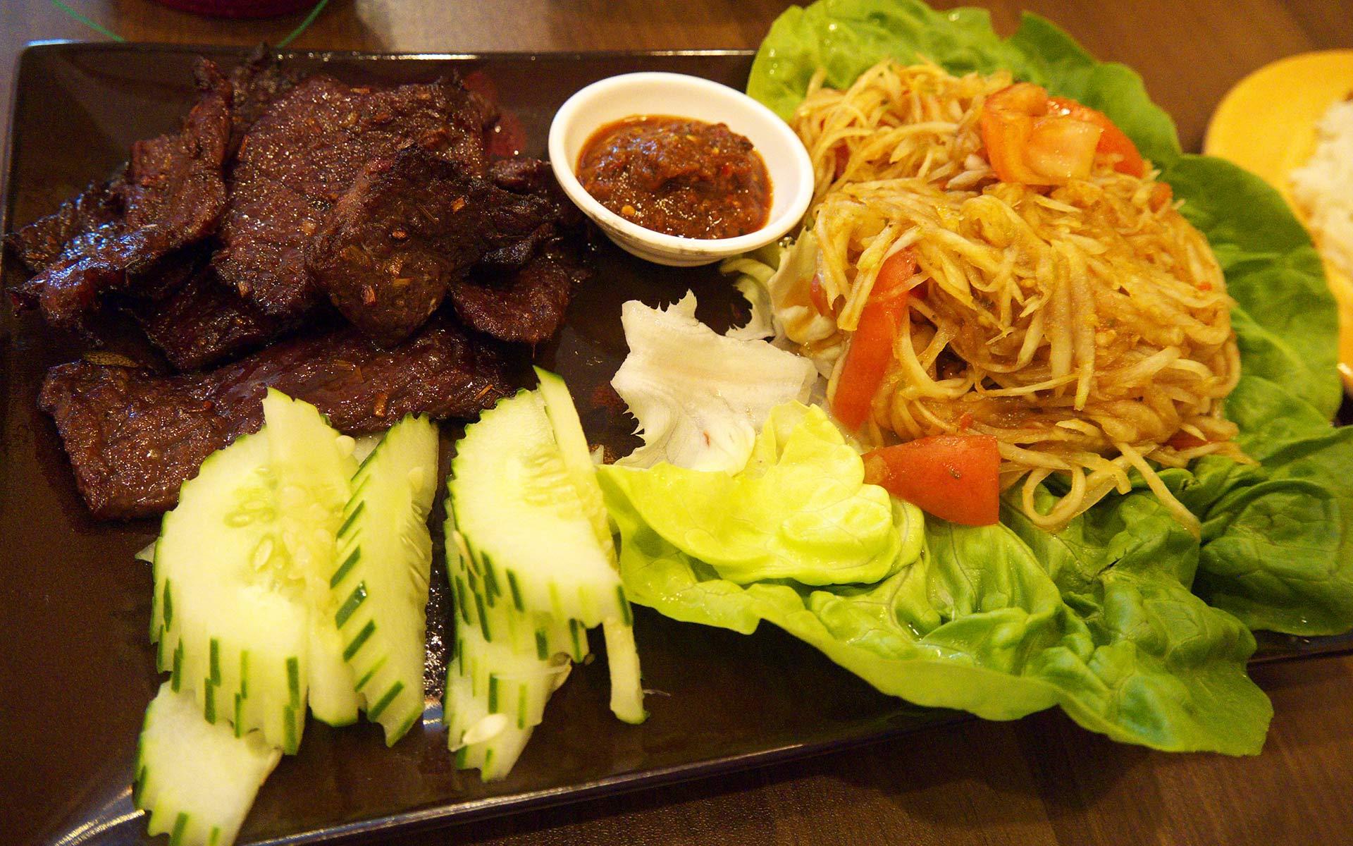 Laos Beef Jerky - Sien Savanh