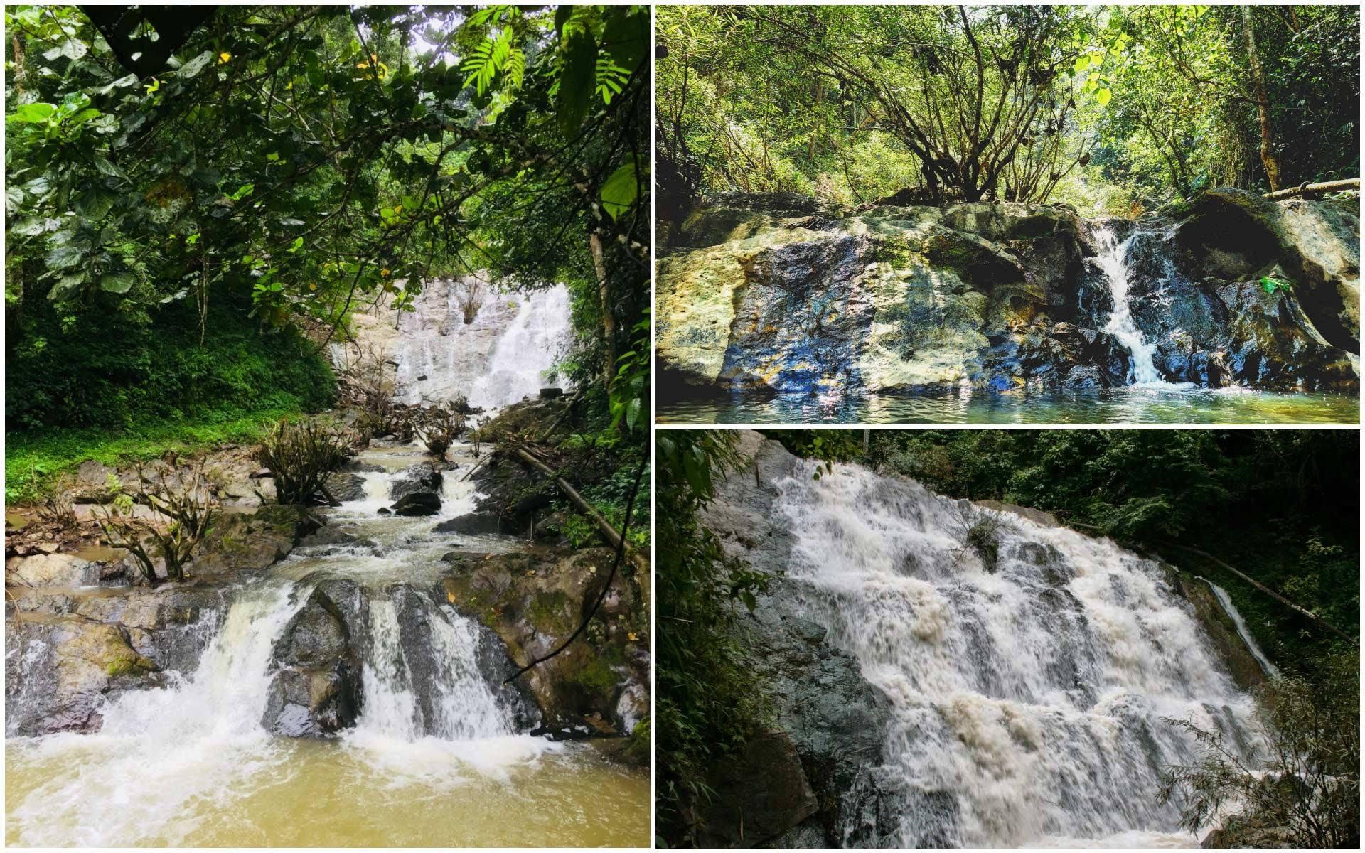 Nam Dee Waterfall luang namtha laos