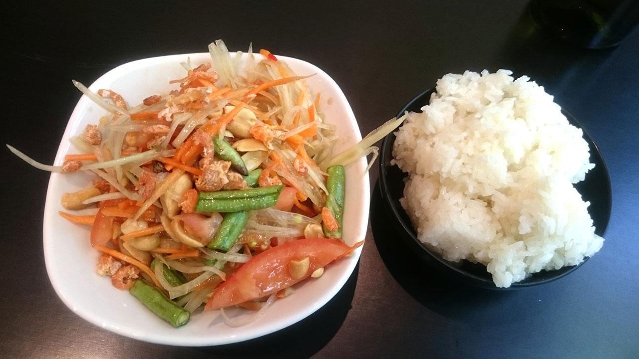 Papaya Salad - Tam Mak Hoong