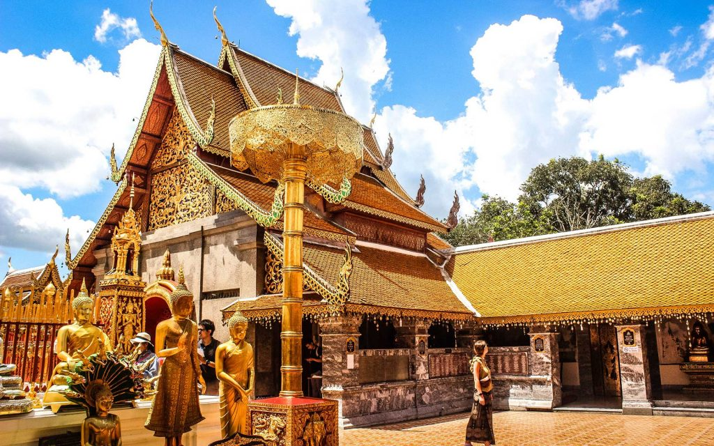 Chiang Mai's Wat Phra That Doi Suthep - one of northern Thailand's most sacred temples.