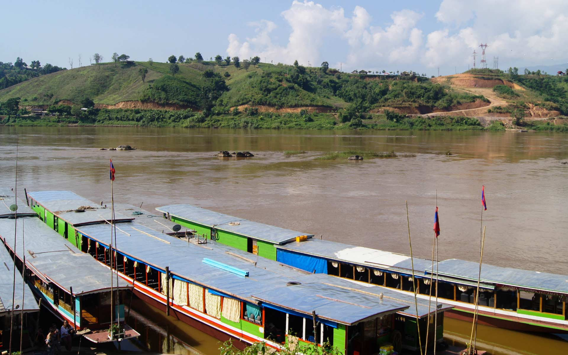boat trip from Luang Namtha