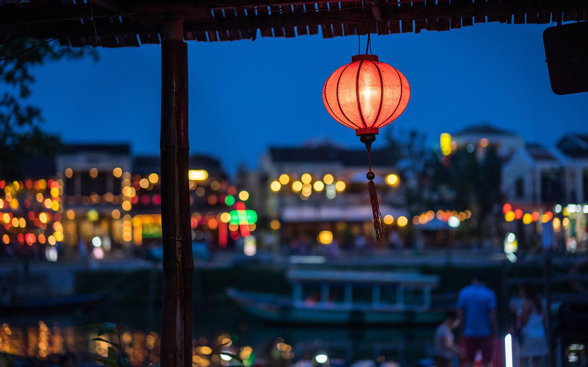 Lantern in Hoian, Vietnam