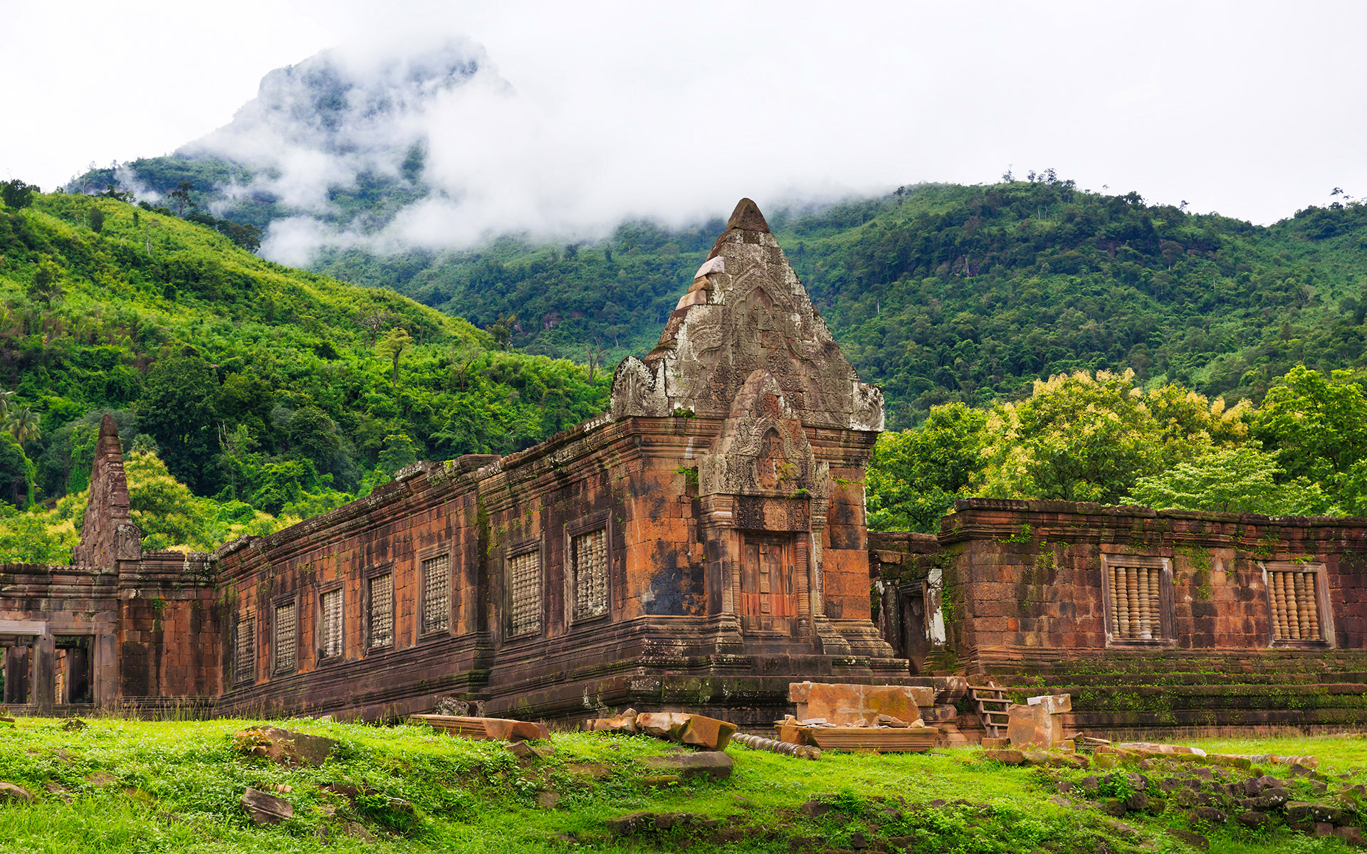 Wat Phou - a World Heritage Site in Champasak Province of Southern Laos
