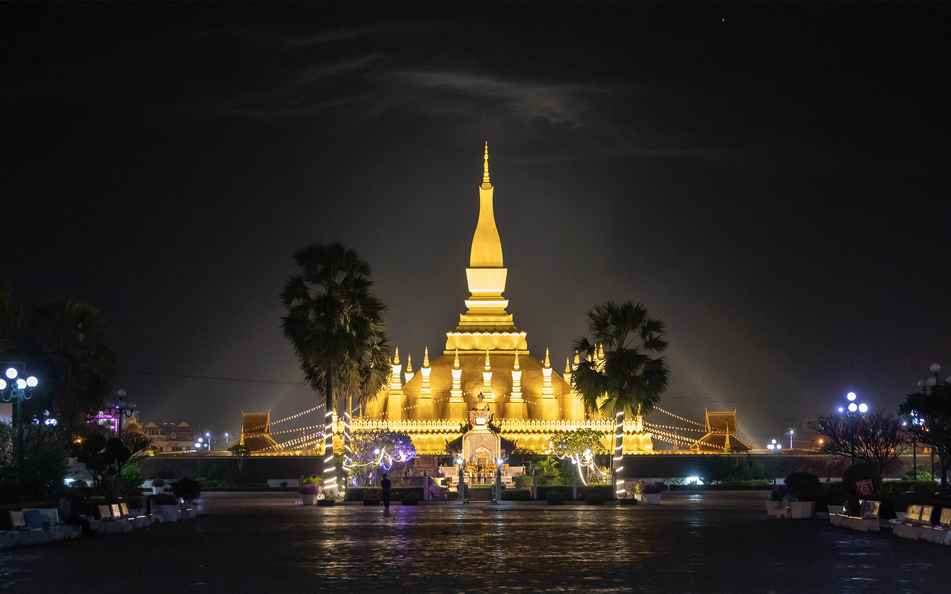 Phra That Luang in Vientiane