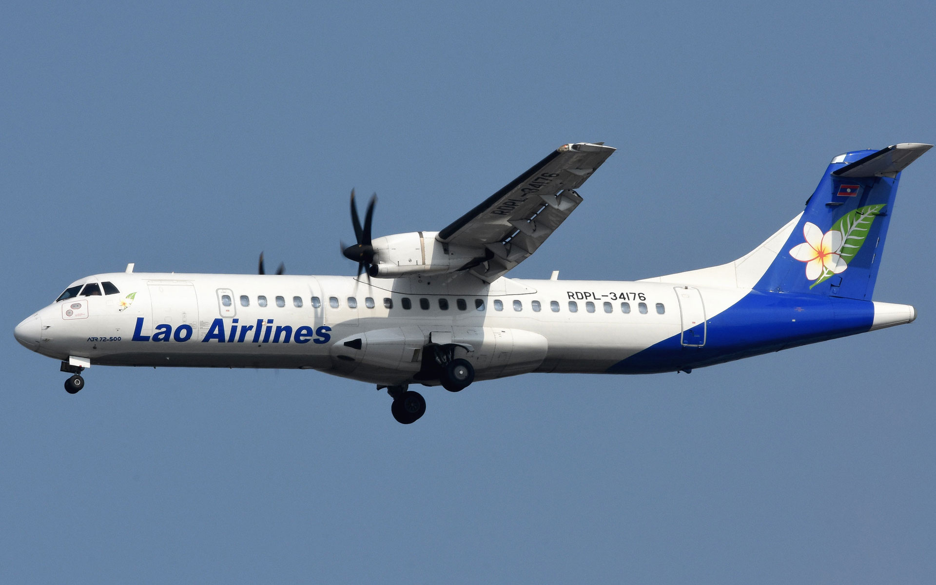 ATR72-500 of Lao Airlines