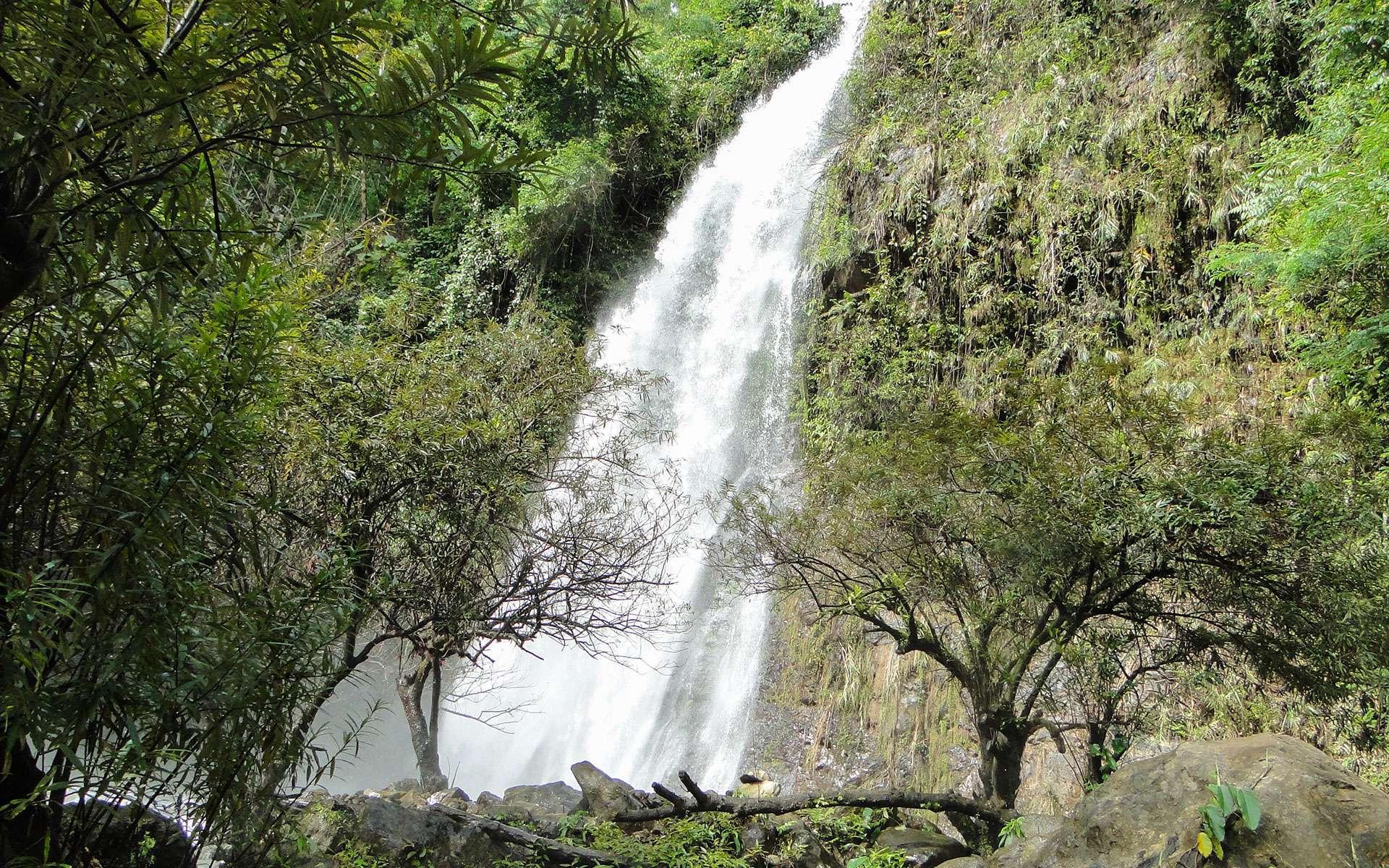Waterfall in Vang Vieng