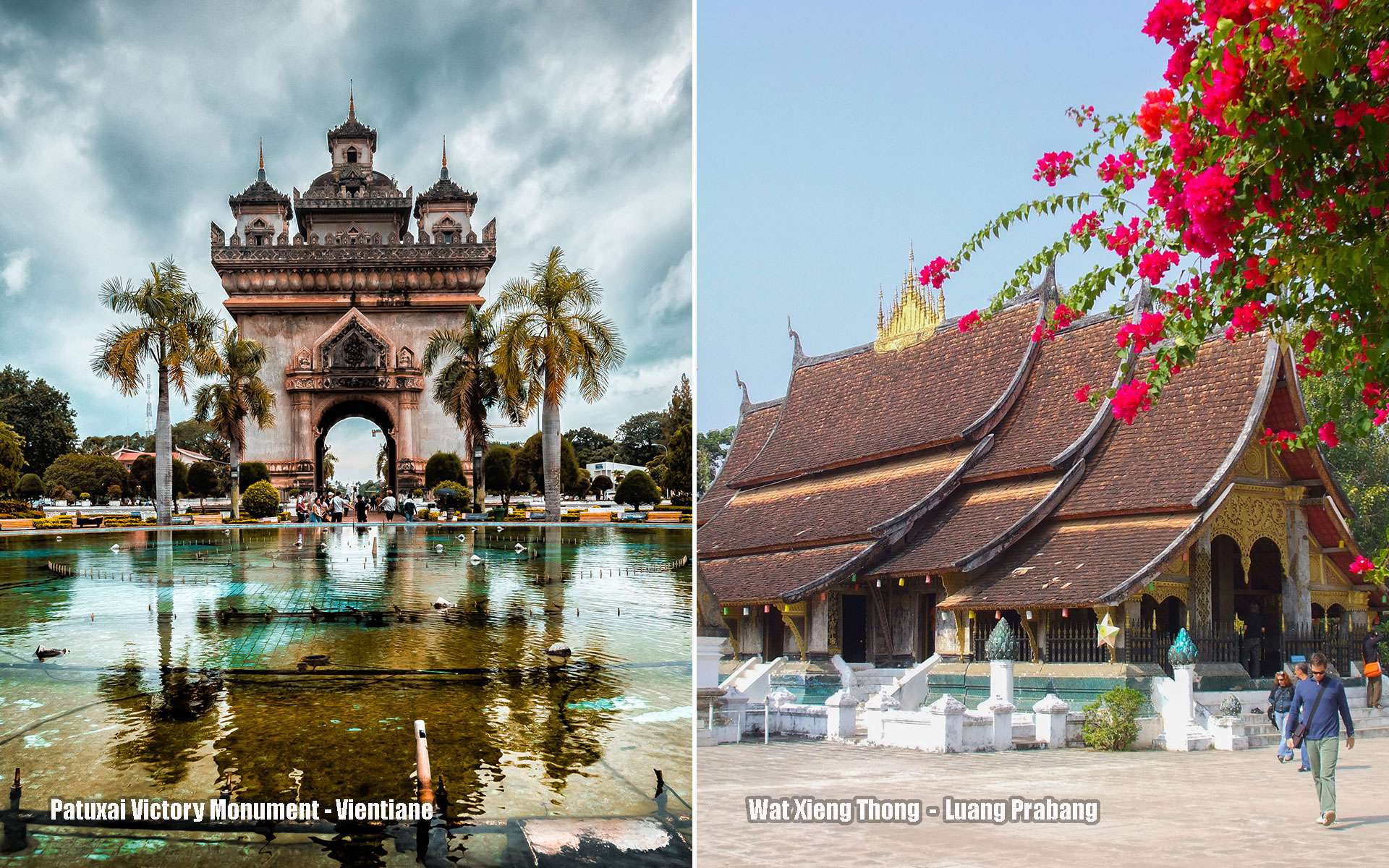 Attractions of Vientiane and Luang Prabang