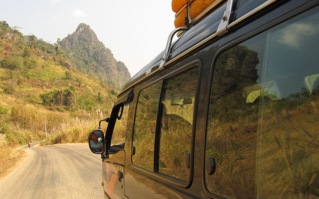 How to Travel from Luang Prabang to Vang Vieng?