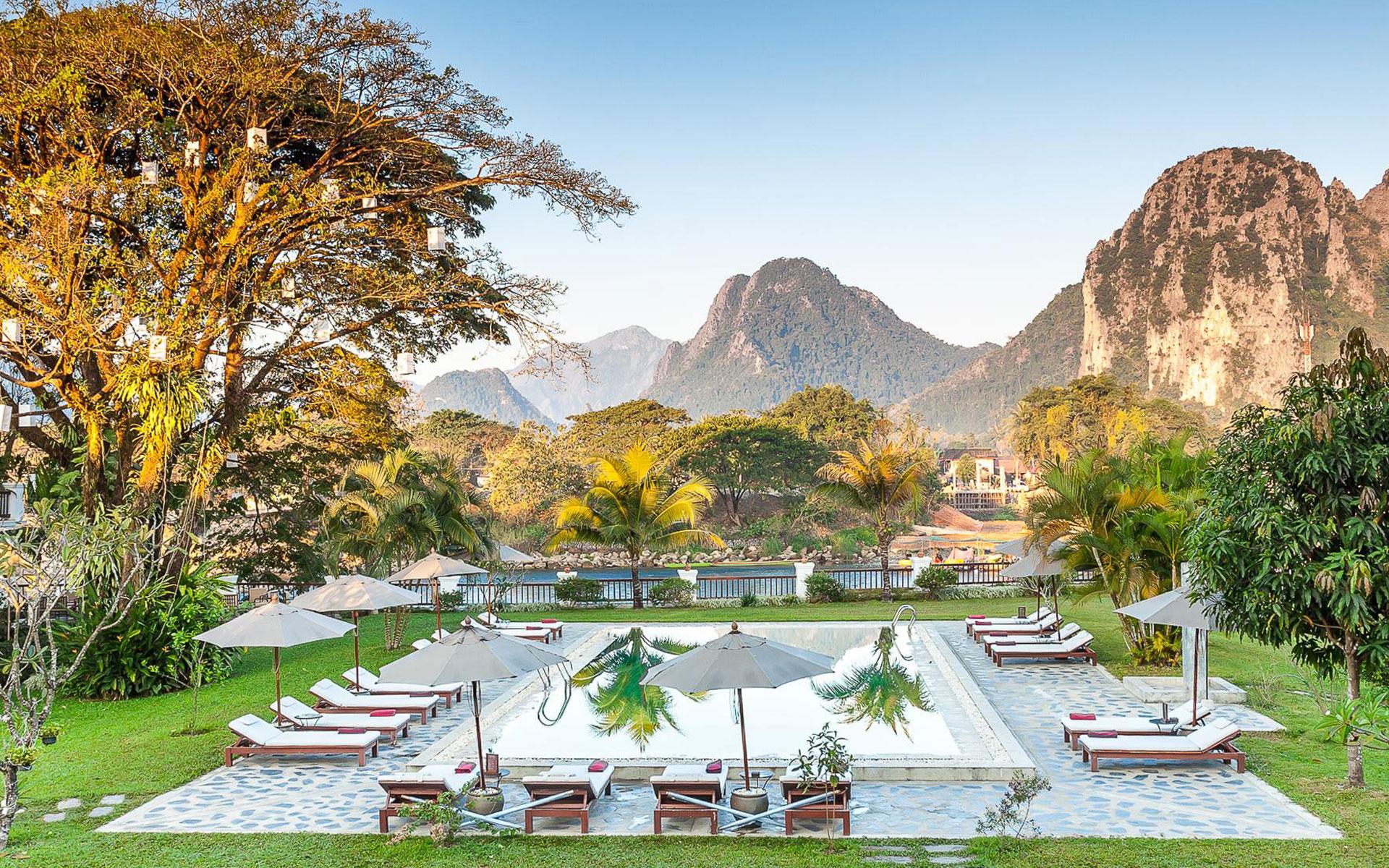 Riverside Boutique Resort in Vang Vieng