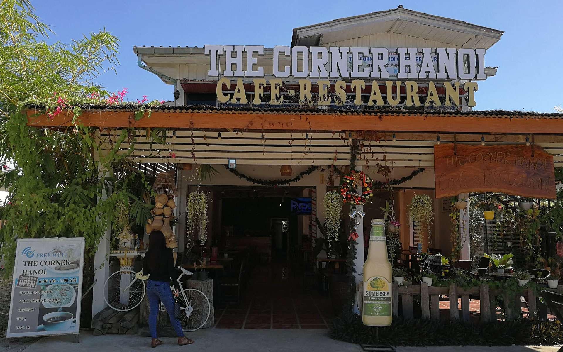 The Corner Hanoi Cafe in Vang Vieng