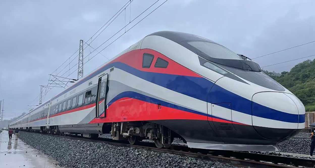 Express Train for Laos-China Railway